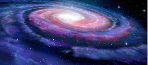 spiral-galaxy-illustration-of-milky-way-picture-id481229372