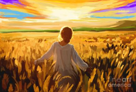 woman-in-a-wheat-field-tim-gilliland